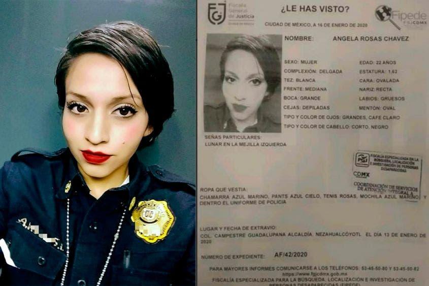 Aparece en Cancún mujer policía extraviada en la Ciudad de México.