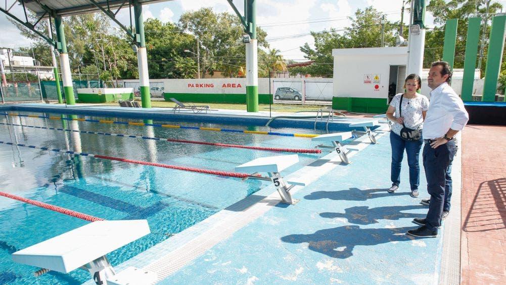 Con acciones concretas, mejora Pedro Joaquín alberca municipal