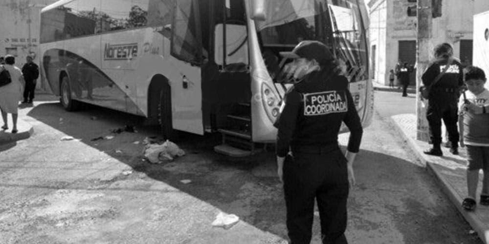 Autobús atropella a abuelito de Tizimín