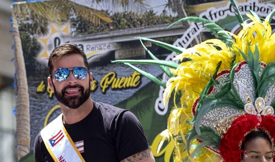 Ricky Martin podría entrarle a la política