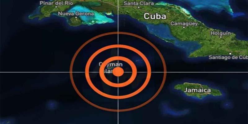 Replica del sismo en Cuba y Jamaica golpea a Islas Caimán