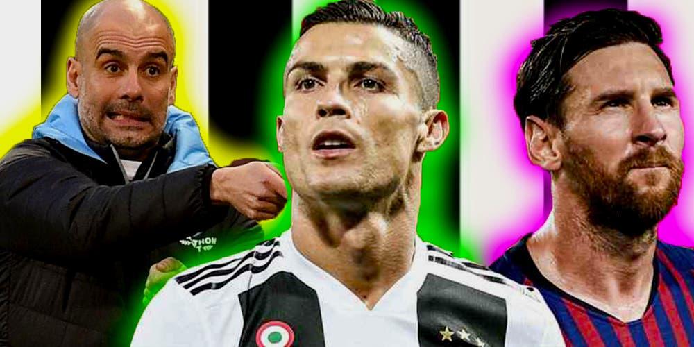 Juventus hará todo por fichar a Pep Guardiola y Messi