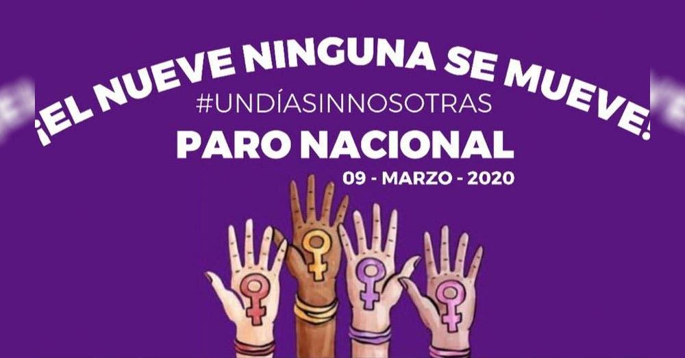 #UnDíaSinMujeres: Feministas convocan paro nacional el próximo 9 de marzo