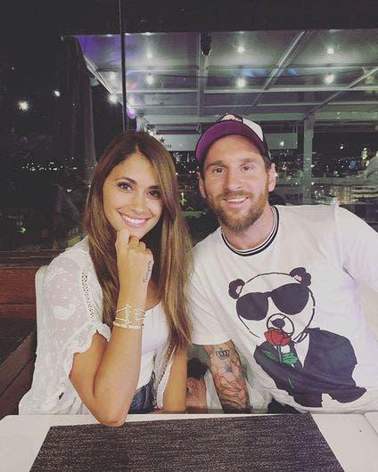 Antonella Rocuzzo y Lionel Messi, un amor que nació de niños.