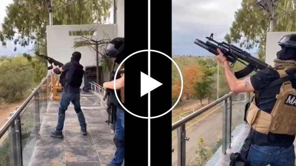 Alarma por balacera en Culiacán, filtran video de responsables