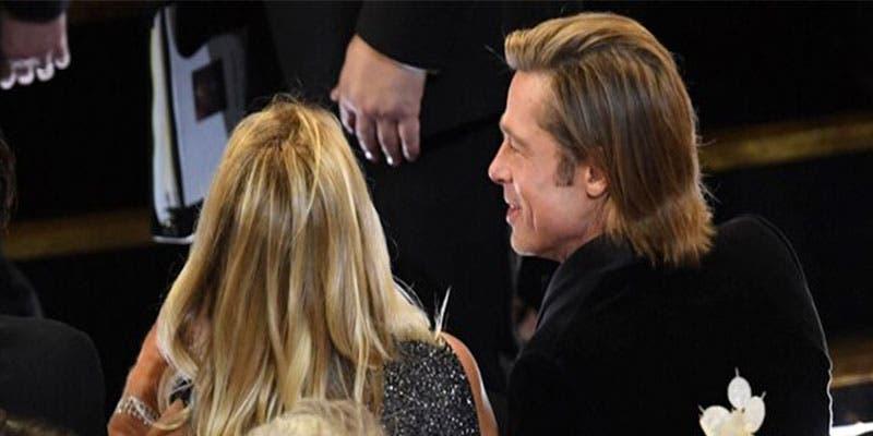 Brad Pitt llegó a los Oscares con una misteriosa mujer y no es Jennifer