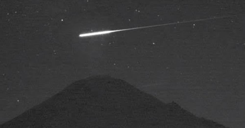 Reportan caída de meteorito en Valle de México (VIDEO)