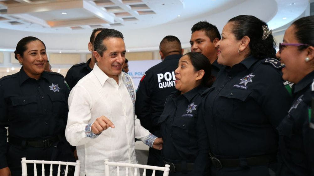 Quintana Roo avanza con un nuevo modelo policial: Carlos Joaquín