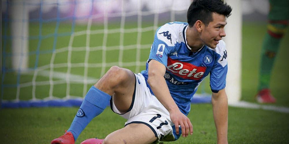 Chucky Lozano no entra en los planes del Director Técnico del Napoli