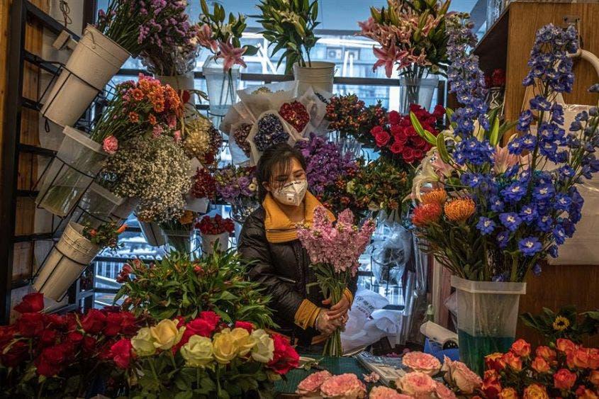Las florerías resentirán las enormes pérdidas por un San Valentín semi vacío.