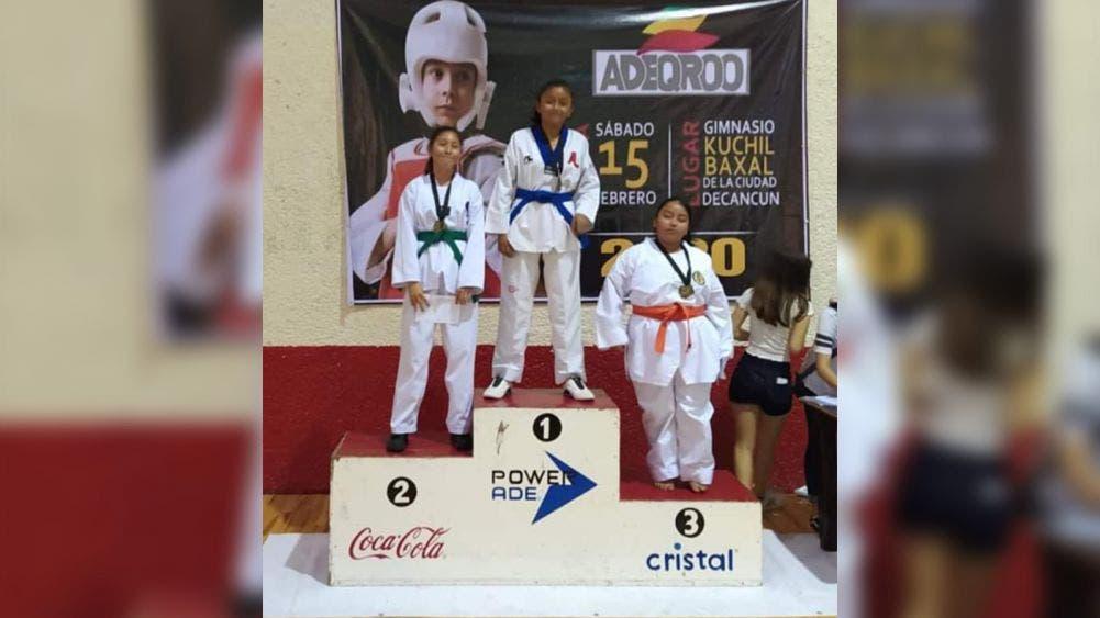 Atletas de la zona maya destacan nuevamente en taekwondo