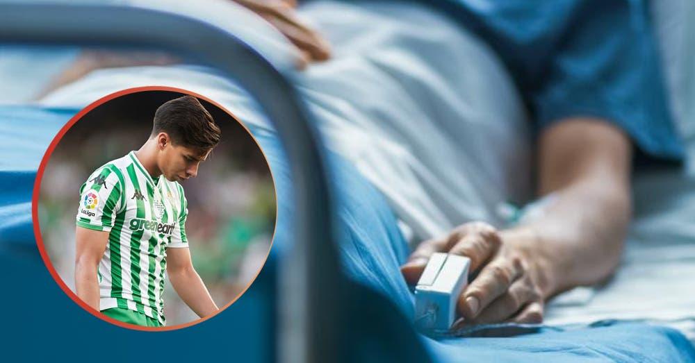 Diego Lainez: ¡Al hospital de emergencia, está en cirugía!