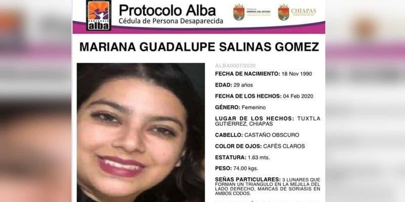Reportan desaparición de una periodista en Chiapas