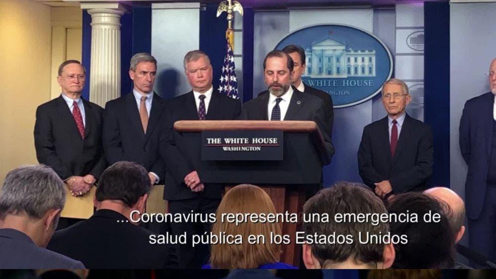 USA declara emergencia de salud por coronavirus
