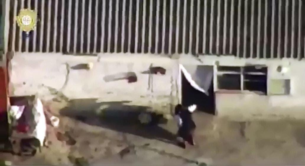 """Cazaron"" con un dron a los presuntos asesinos de Fátima"