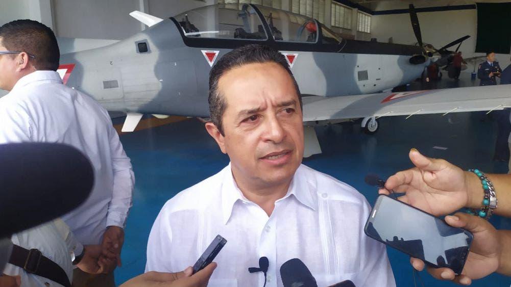 Encabeza Carlos Joaquin conmemoración de la Fuerza Aérea Mexicana