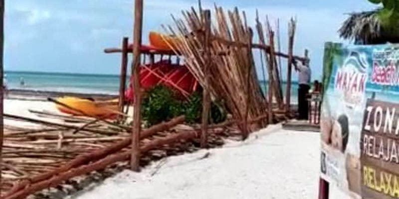 No permitirán que se 'privaticen' las playas en isla Holbox.