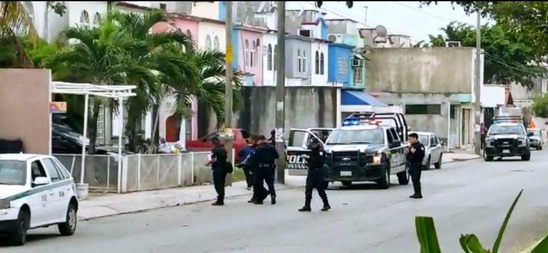 Asesinan a jovencito en la colonia Haciendas del Caribe en Cancún