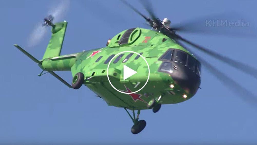 Amenaza USA a México por intenciones de comprar helicópteros rusos