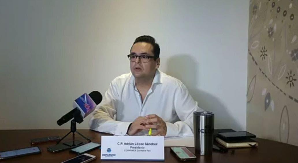 Se desliga Coparmex Cancún de chat que piden freno a derroche de diputados.
