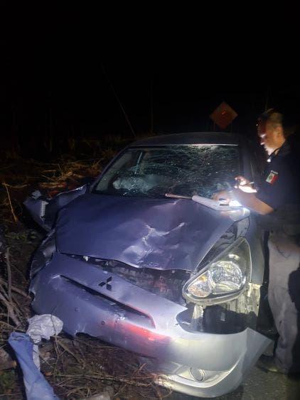 Accidente en Cozumel