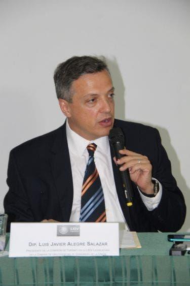Luis Alegre Salazar; Diputado Federal de la Comisión de Turismo