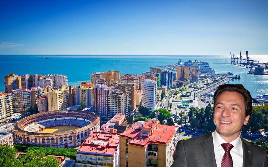 Emilio Lozoya estaba escondido en un paraíso de la costa mediterránea