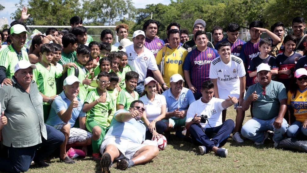 Fomenta Mara el deporte en la niñez