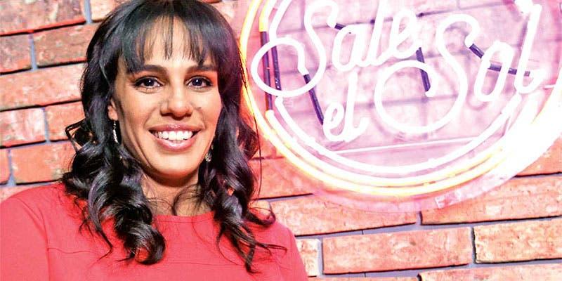 Marysol Sosa sufre aparatosa caída en vivo con 5 meses de embarazo