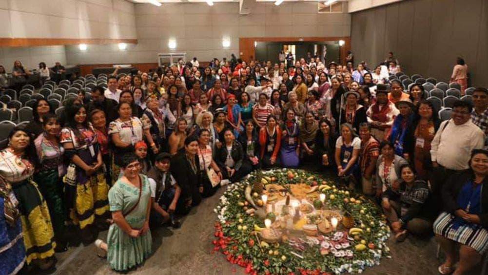 Mujeres de la zona maya participan en encuentro continental de las Américas