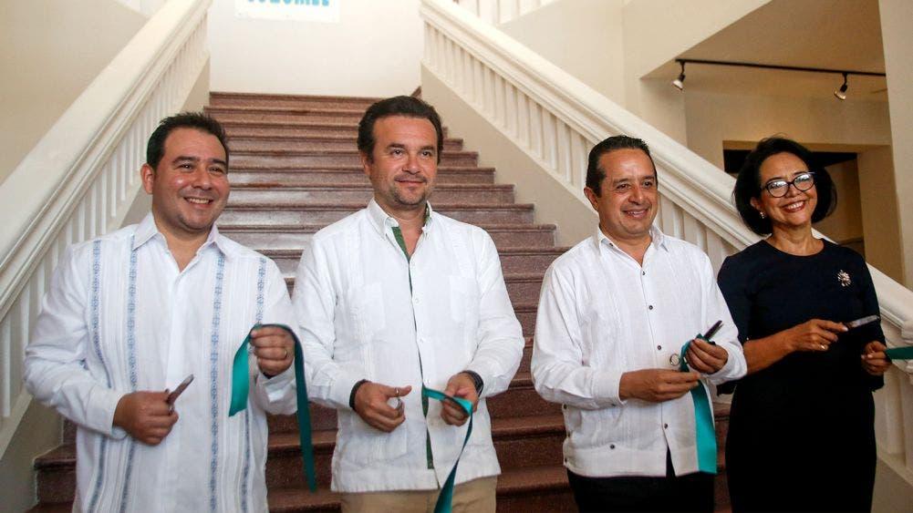 Acompaña Pedro Joaquín al Gobernador en reinauguración del Museo de Cozumel