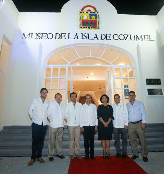 El remozamiento en el que se invirtieron 34 millones de pesos, contribuye a mejorar la infraestructura que alberga al patrimonio cultural de la isla
