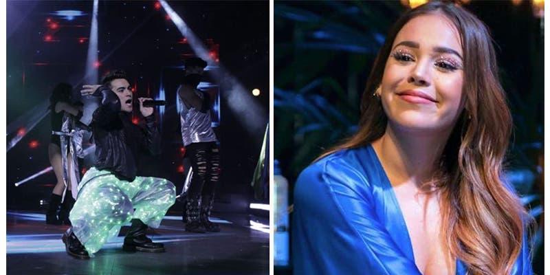 Danna Paola insultó a concursante de La Academia en Tv Azteca