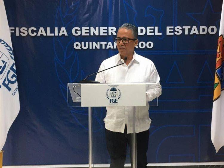 El fiscal Óscar Montes de Oca dio a conocer los detalles de la investigación que llevó a la captura.