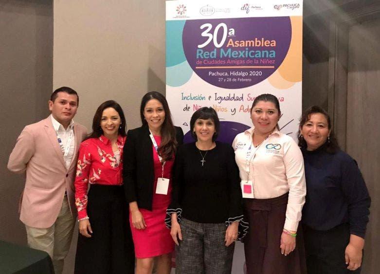 El gobierno de la alcaldesa Laura Fernández Piña reafirma su compromiso de mejorar la condición de vida de niñas, niños y adolescentes