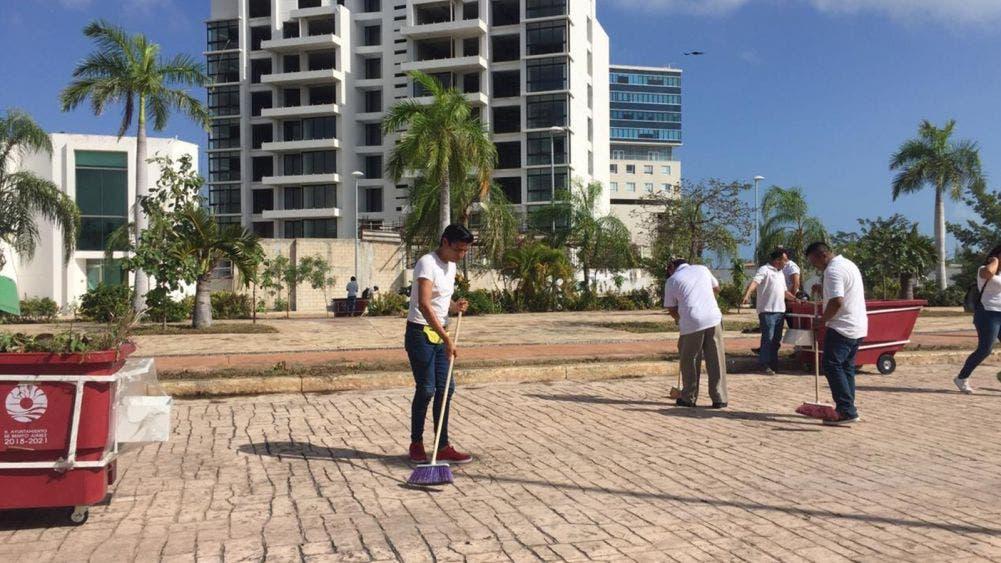 Inician recuento de daños causados al Malecón Tajamar