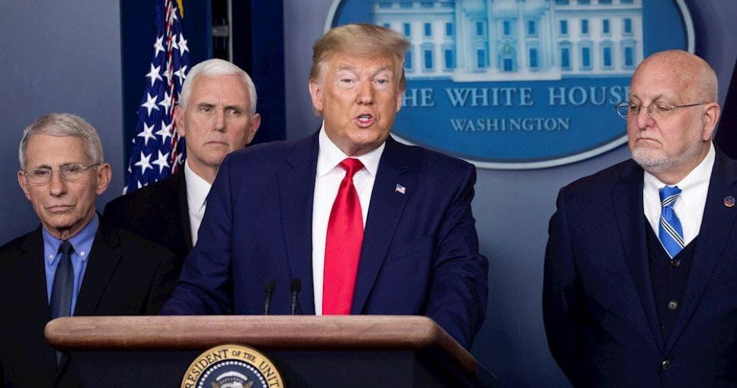 Trump cerraría frontera con México, por coronavirus