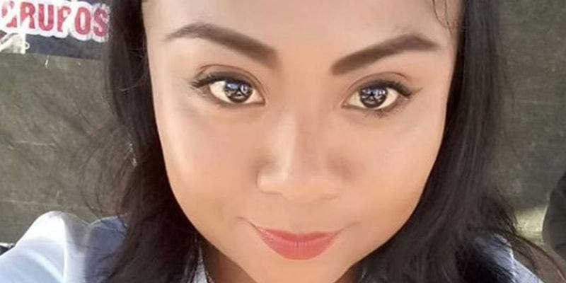 Hermana de Yalitza Aparicio muestra escote con enormes atributos