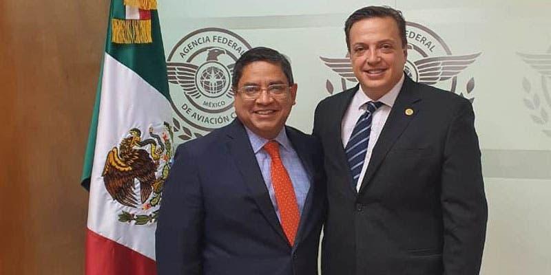 Busca diputado Luis Alegre abrir espacios aéreos directos para vuelos internacionales hacia Cancún y Chetumal.
