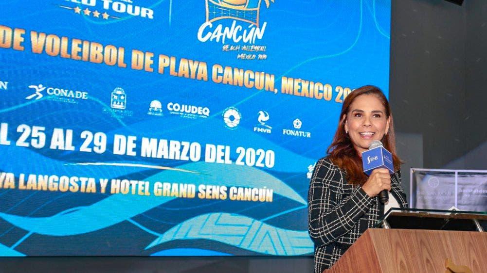 Cancún, sede del Tour Mundial de Voleibol de Playa: Mara