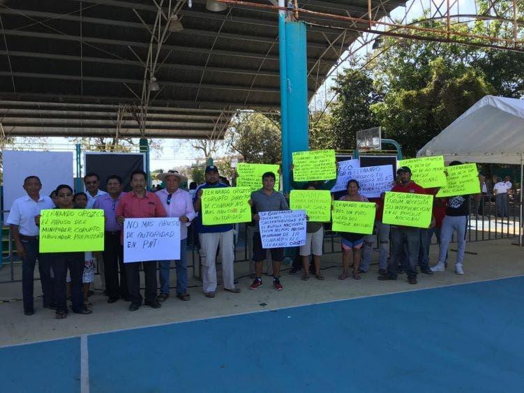 Denunciarán ante la FGR al director del Parque Nacional Tulum.