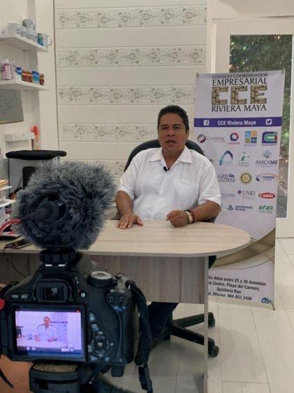 Empresarios ven con positivismo la visita de AMLO a Playa del Carmen; inversiones traerán grandes beneficios: Lenin Amaro Betancourt.