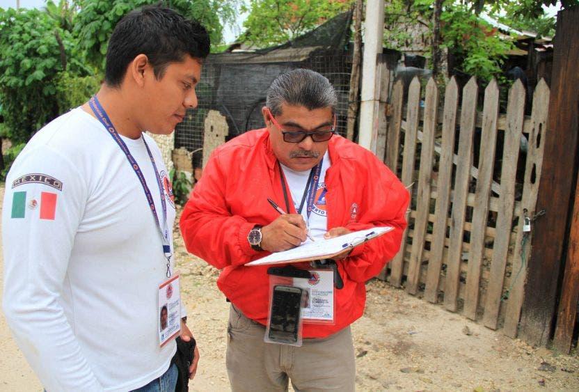Va al 60% el Atlas de Riesgo de Puerto Morelos; especialistas trabajan de la mano del Centro Nacional de Prevención de Desastres.