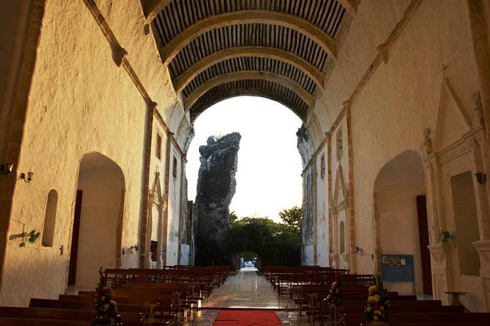 """Inició el proyecto de """"Restauración del Templo del Niño Jesús""""."""