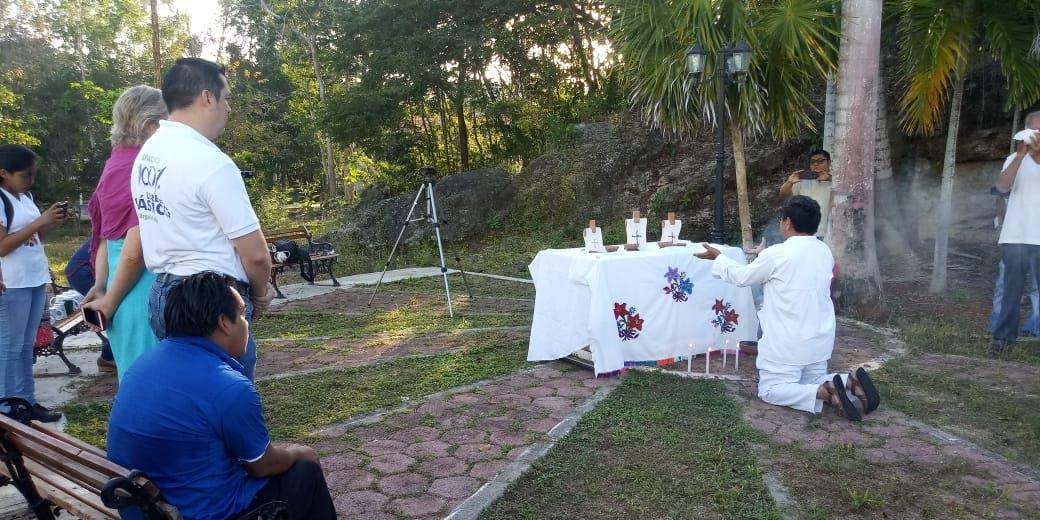 Inicia la celebración de las lenguas maternas en la Zona Maya; romotores culturales participarán en diversas actividades en Felipe C. Puerto.