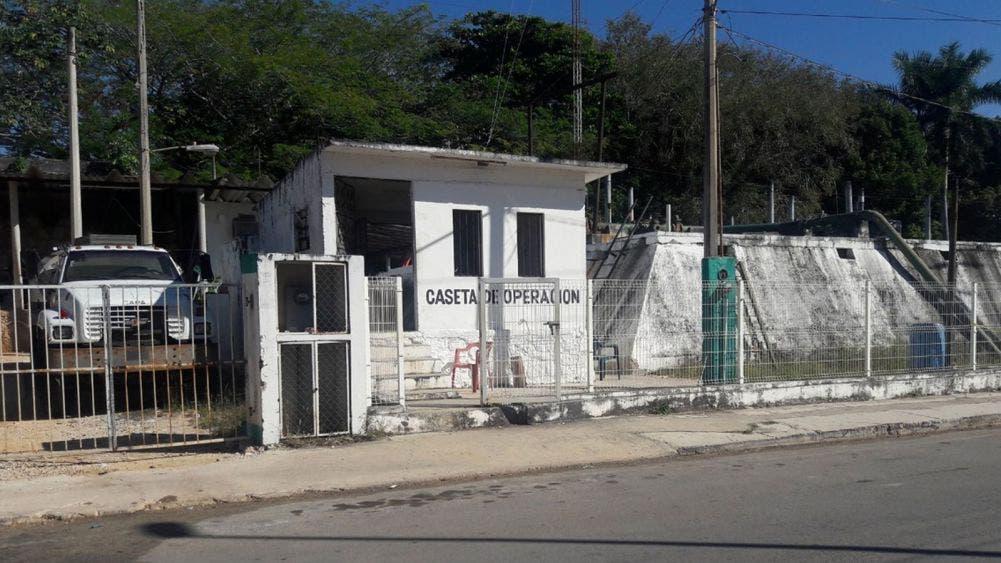 desabasto de agua en Felipe Carrillo Puerto