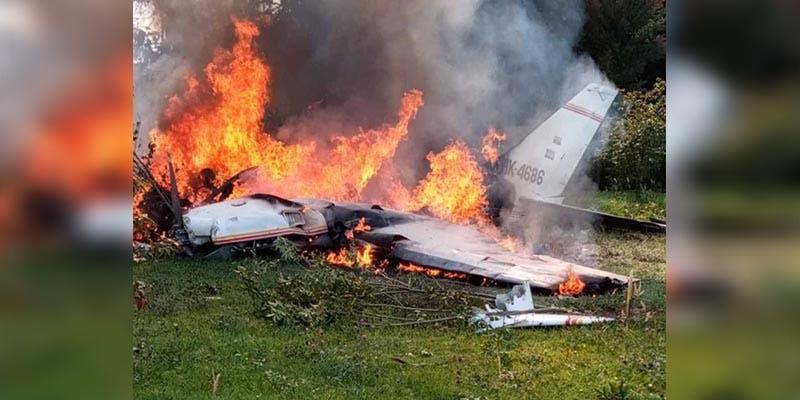 Avioneta en Colombia se cae; murieron todos los tripulantes