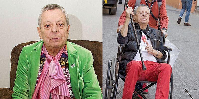 César Bono se está muriendo y no quiere ir al hospital