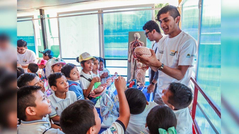 La ciencia al alcance de niños y jóvenes de la Zona Maya de Tulum