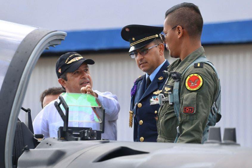 El gobernador de Quintana Roo participó en el 105 aniversario de la creación de la FAM, en el hangar de la Base Aérea Militar Número 4 de Cozumel